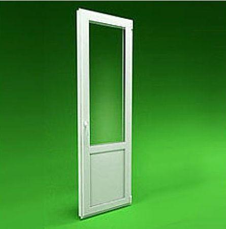 Пластиковая дверь балконная