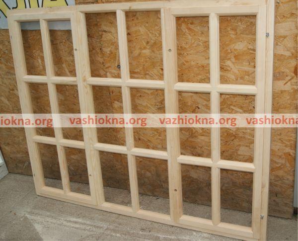 Деревянная рама для дачи 150х200