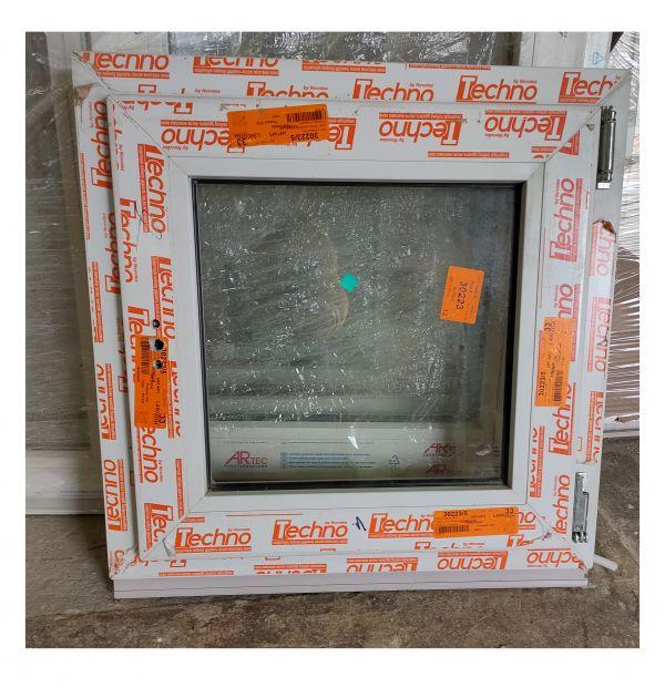 Окно ПВХ  60х50 поворотно-откидное