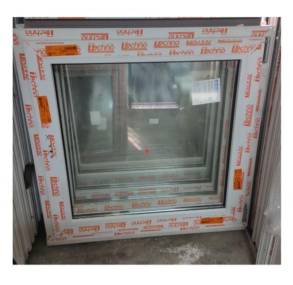 ПВХ окно 90х90 поворотно-откидное
