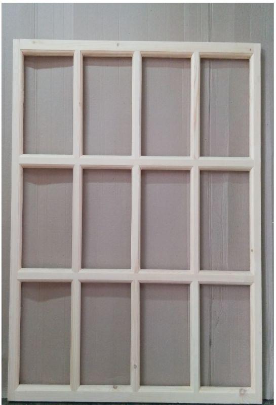 Окно из дерева для дачи 120 х 100