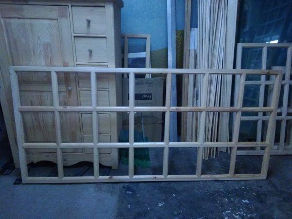 Рама террасная деревянная 220х100