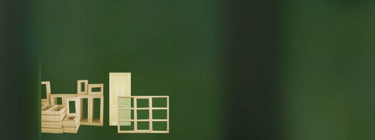 деревянные окна и двери для дома и дачи
